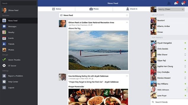 Facebook app for Windows 8 1 now available for download | Technology