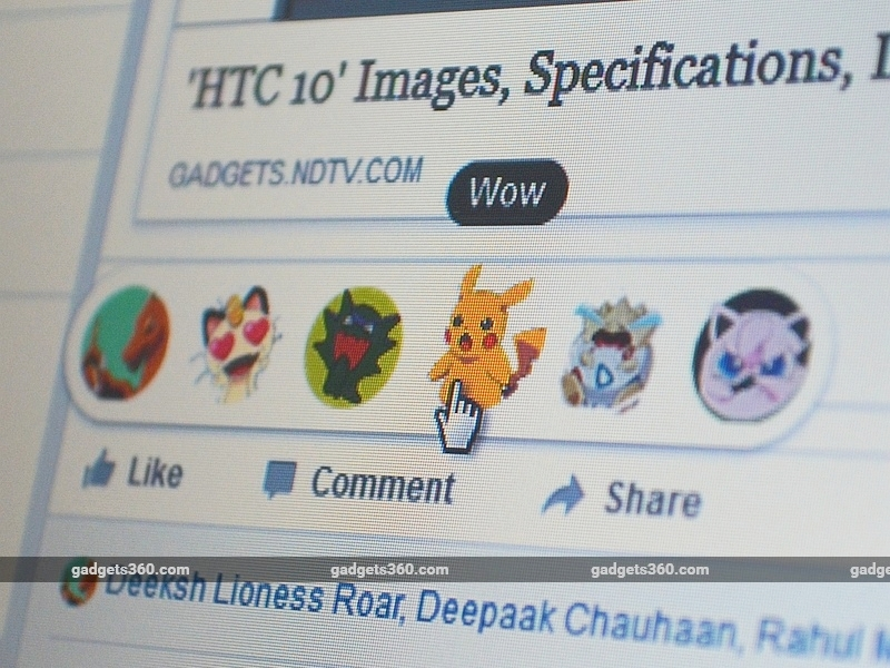 How to Swap Facebook Reactions Emoji With Pokemon, Donald