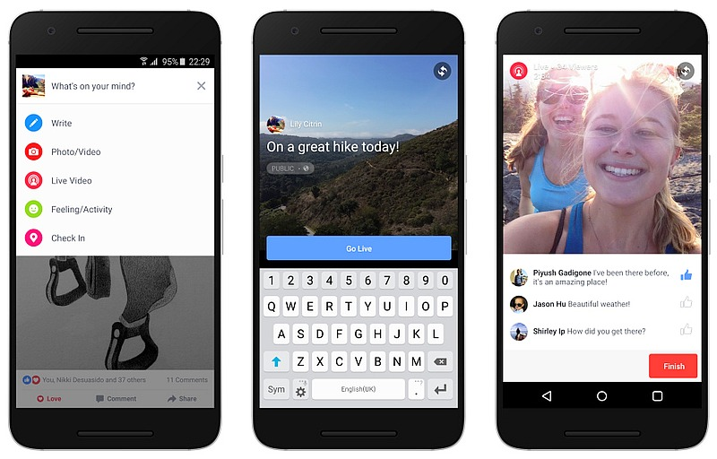 Facebook Live Video Streaming Coming Soon to Android, More Countries