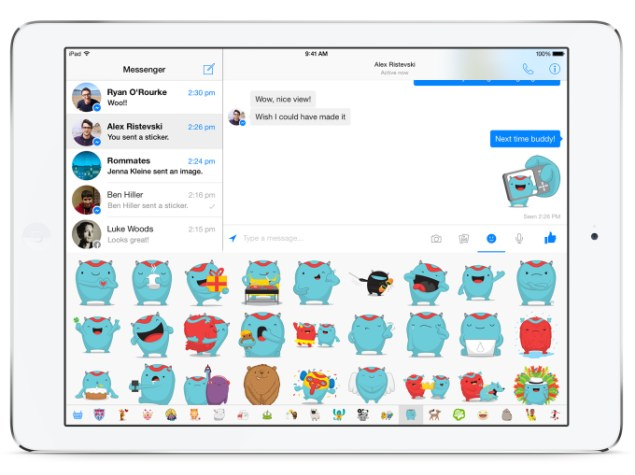 Facebook Messenger App for iPad Finally Available for
