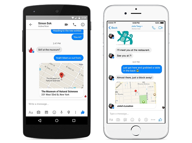 Facebook Messenger Update Changes How Users Can Share Location Info