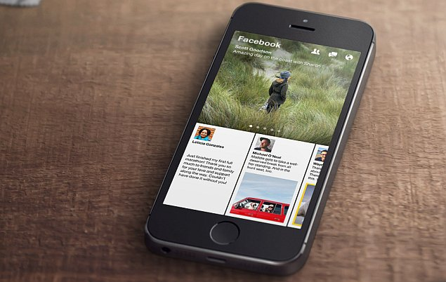 Facebook unveils Paper, a Flipboard-style news reader app for iPhone