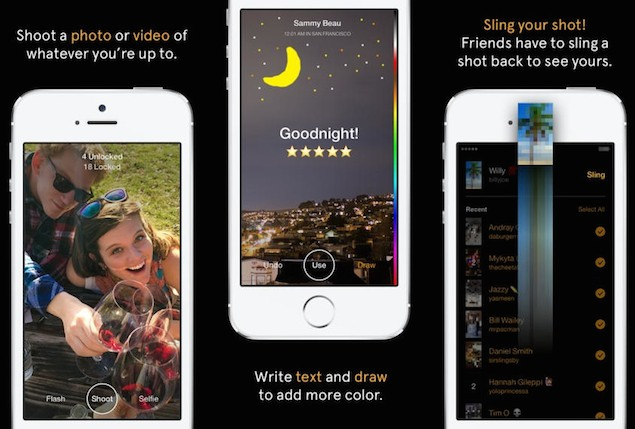 Facebook Launches Slingshot App With Snapchat-Like Disappearing Messages