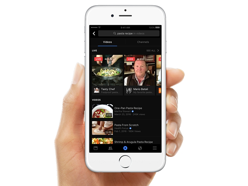 Facebook Gets Video Search, Starts Showing Live Videos in Trending Topics