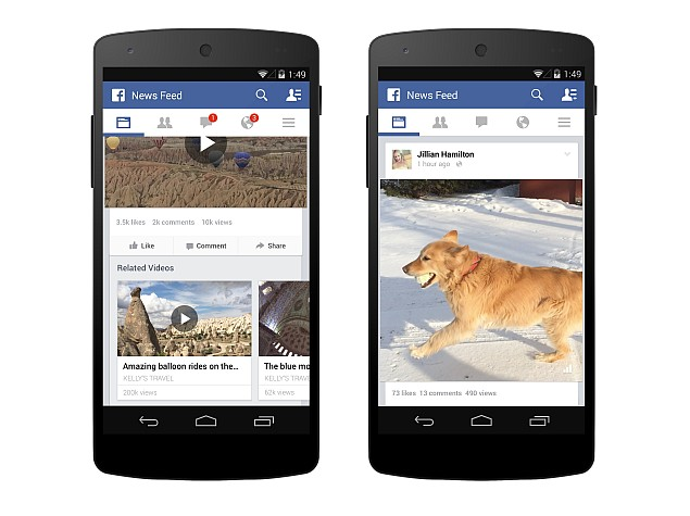Facebook Adds View Count to Videos; Starts Testing Related Videos