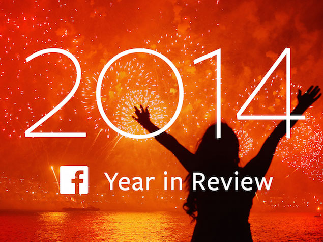 Facebook Year in Review Lets Users Share Their Highlights of 2014
