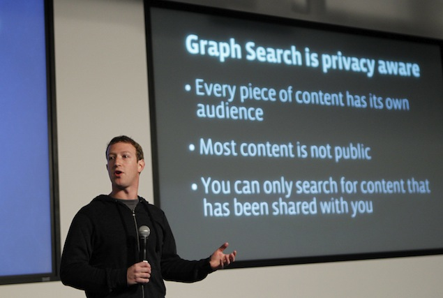 Facebook unveils Graph Search, a new way to find photos, connections and more