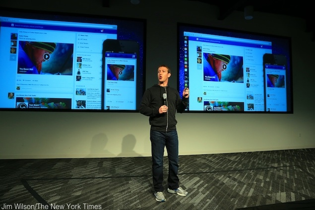 Facebook shows off its redesign