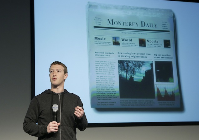 Facebook redesigns News Feed to be like a 'personalised newspaper'