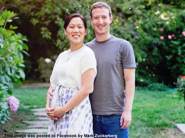 In Ultrasound, Baby Gave a Facebook 'Like', Says Zuckerberg