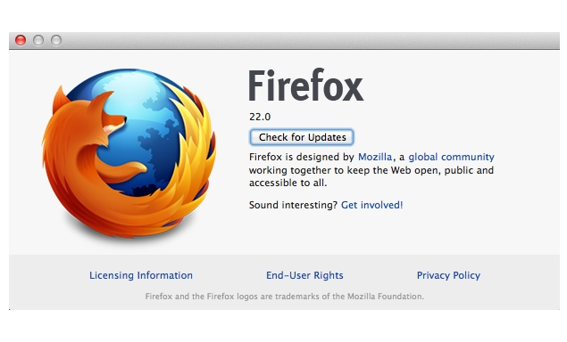 Mozilla Firefox 22 brings 3D gaming, video calls and file sharing