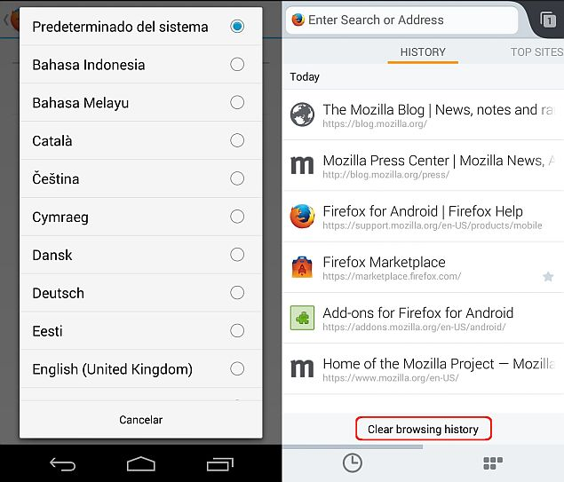 Firefox 32 With New HTTP Cache Released for Android, Linux