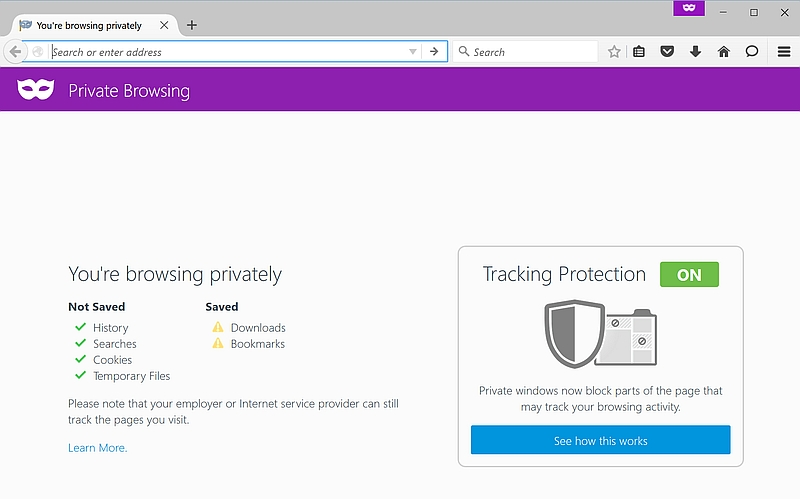 Firefox Update Improves Private Browsing With Tracking Protection