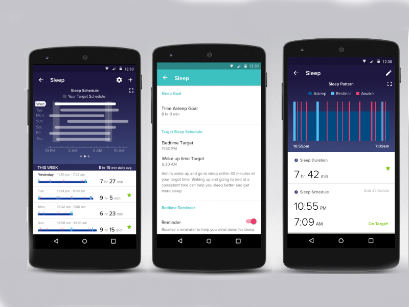 Fitbit Apps Gets New Sleep Schedule Feature for Better Nap