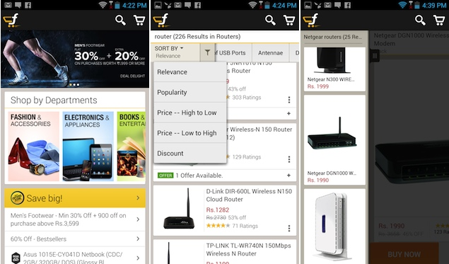Flipkart finally launches Android app