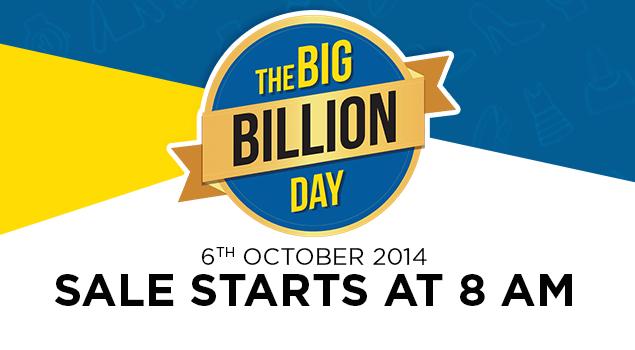 Flipkart Big Billion Day Sales Top Rs. 600 Crores in 10 Hours