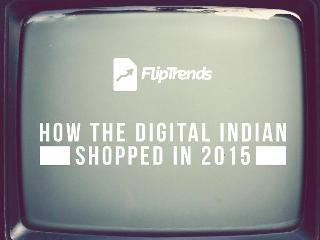 Flipkart Reveals FlipTrends: India's Shopping Trends for 2015