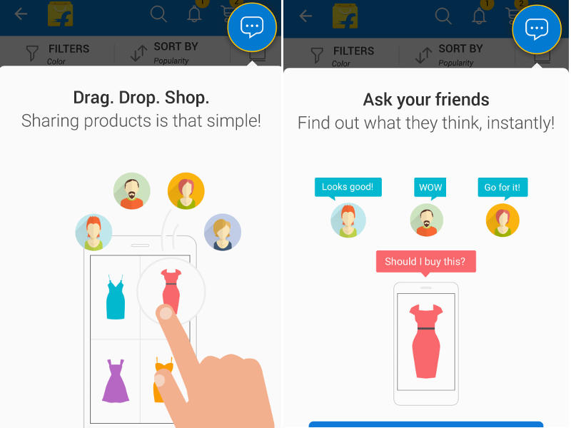 Flipkart Adds Social Layer to Its Mobile App With Ping