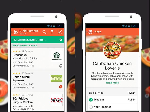 Foodpanda app for android and ios gets cashless mobile - Application android cuisine ...