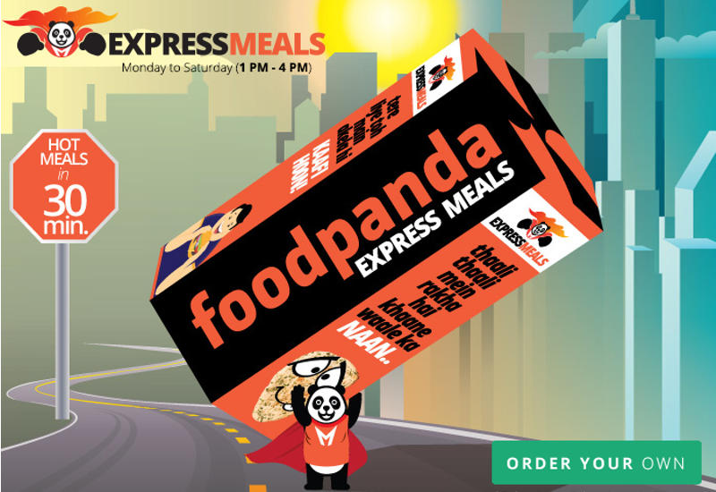 Foodpanda Pilots 30 Minute Delivery With 'Express Meals'