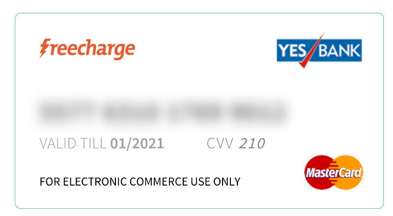 FreeCharge Partners MasterCard, Yes Bank to Launch Virtual Card
