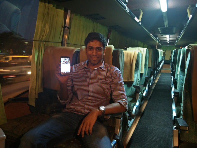 Fropcorn Wants to Bring In-Flight Entertainment Experience to India's Buses