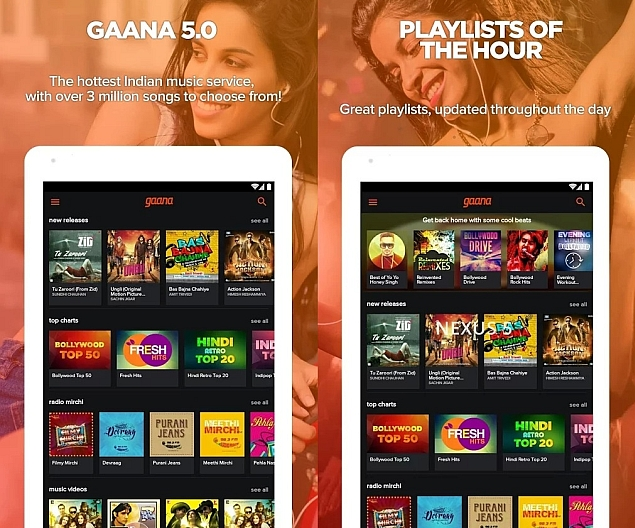 Gaana App for Android Adds Referral Program, Offers Free Talk Time