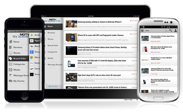 NDTV Gadgets is the number 1 News app in India