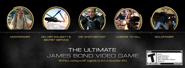 New 007 Game For Ps3 : Activision celebrates years of james bond with