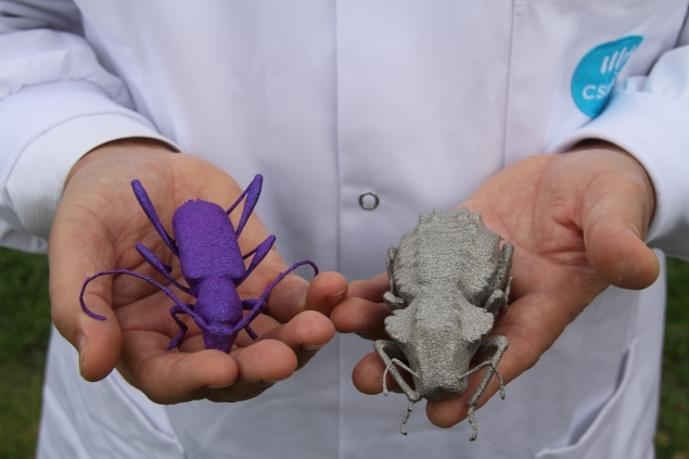 Australian scientists uses 3D printer to create super-sized bugs