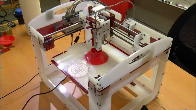 Researchers 3D-print working loudspeaker with new multi-material method