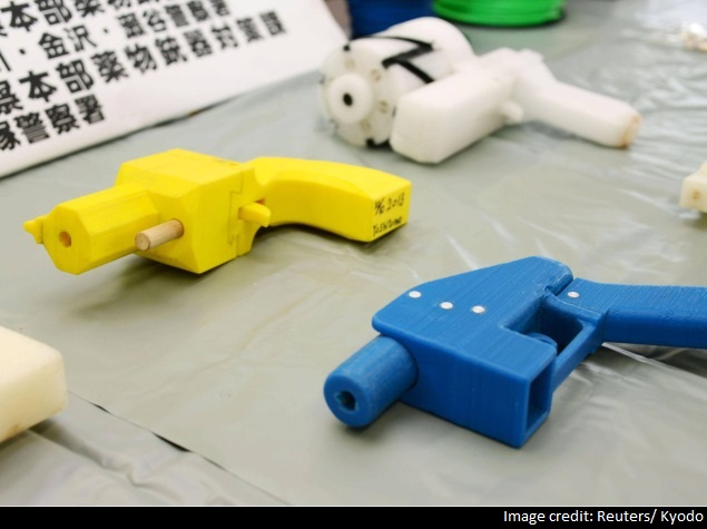 Man Jailed in Japan for Making Guns With a 3D Printer