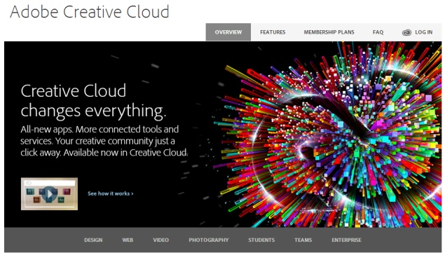 Adobe Creative Cloud grows past 1.4 million subscribers in Q4