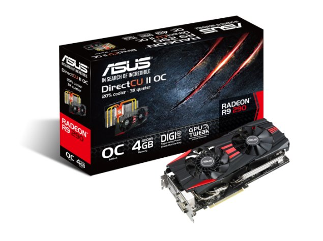 Asus R9 290X and R9 290 DirectCU II graphics cards launched in India