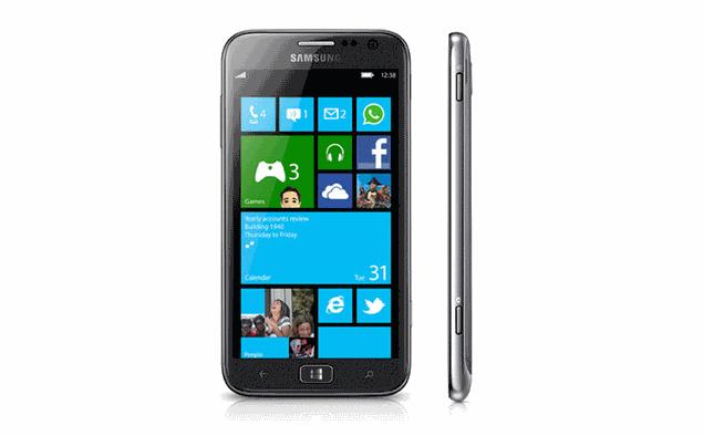Samsung unveils ATIV S, world's first Windows Phone 8 device