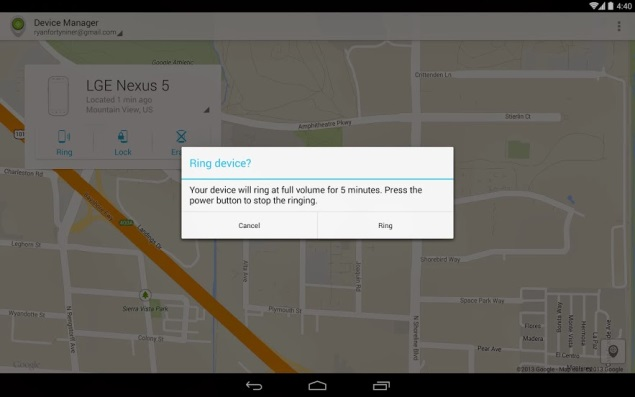 Track, remote wipe your lost Android device for free with new Google utility