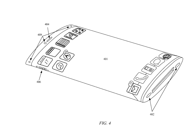 Apple seeks patent for an iPhone with 'wraparound' display