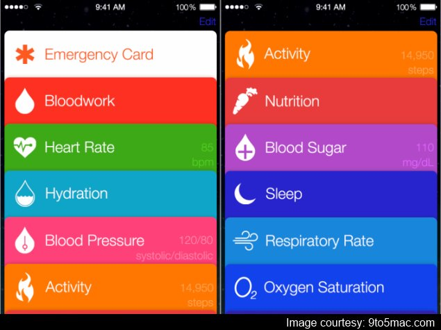 Details and images of Apple's rumoured Healthbook iOS app emerge