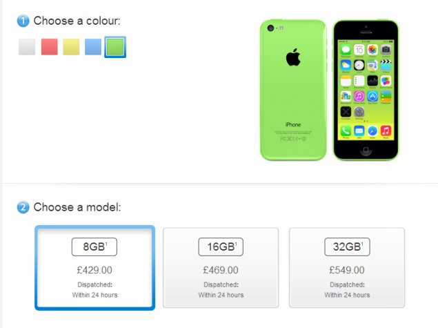 The 8GB iPhone 5c is proof that Apple cannot admit defeat