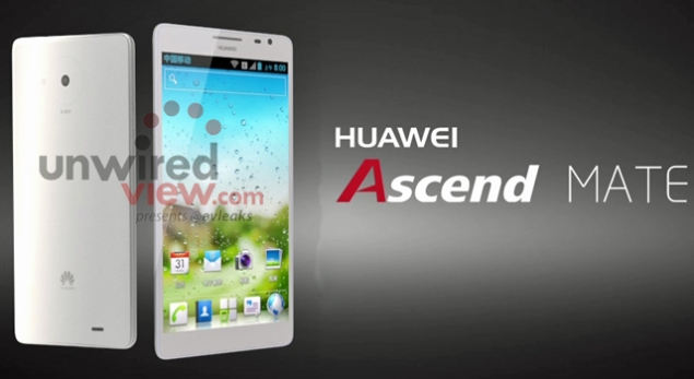 Huawei's Ascend D2, Ascend Mate and W1 press photos leak ahead of CES launch