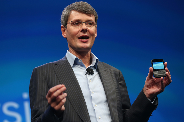 BlackBerry CEO says Samsung phones not secure for enterprise use