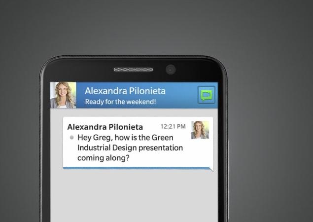 Alleged pictures of BlackBerry Z15, Z30 smartphones surface online