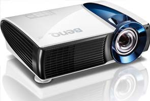 BenQ launches world's first short throw laser projectors