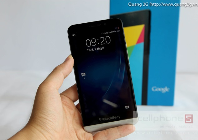 BlackBerry Z30 spotted again in new video