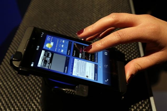 BlackBerry releases first OTA software update for BlackBerry