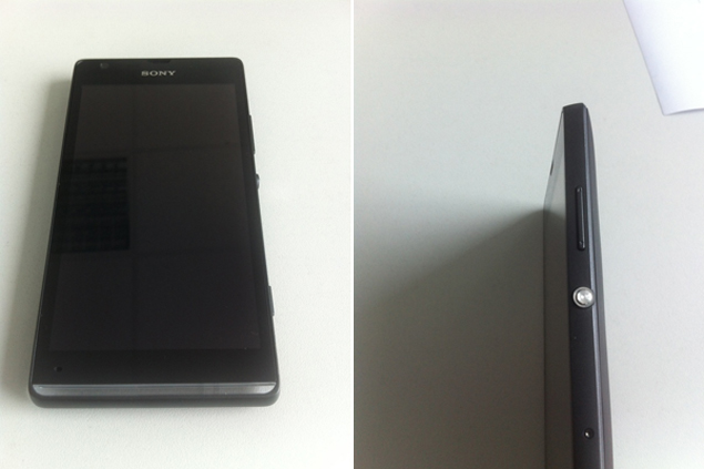 Sony C530X codenamed 'HuaShan' poses for the camera once again