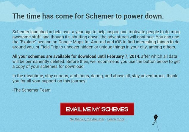 Google shuts down Schemer; updates Drive with 'activity stream'