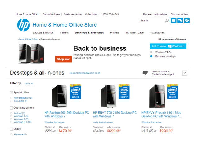 HP brings Windows 7 back to PCs in the US due to 'popular demand'