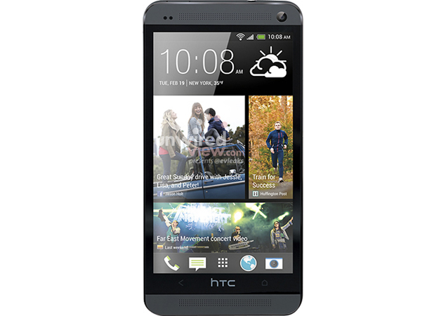 HTC One aka HTC M7 Black and White press renders leak