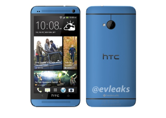 HTC One now makes an appearance in 'Blue'